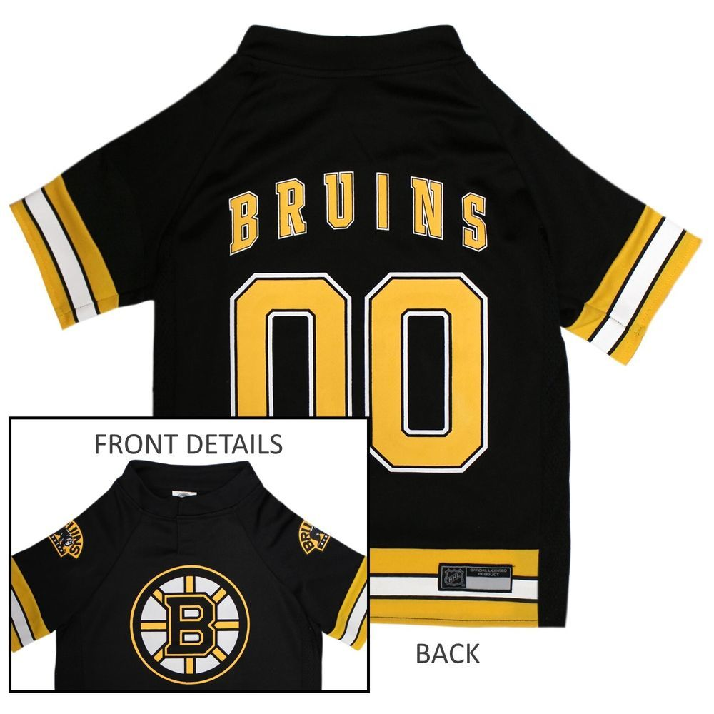 Boston bruins nhl pets first licensed dog pet hockey