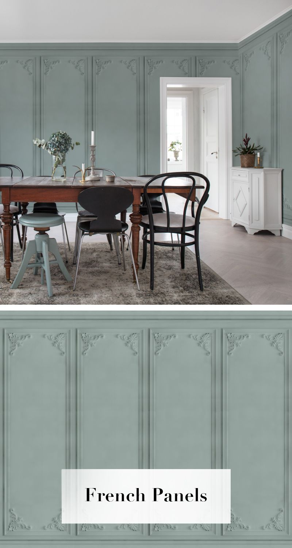 french panels in 2019 tapetenkollektion palette. Black Bedroom Furniture Sets. Home Design Ideas