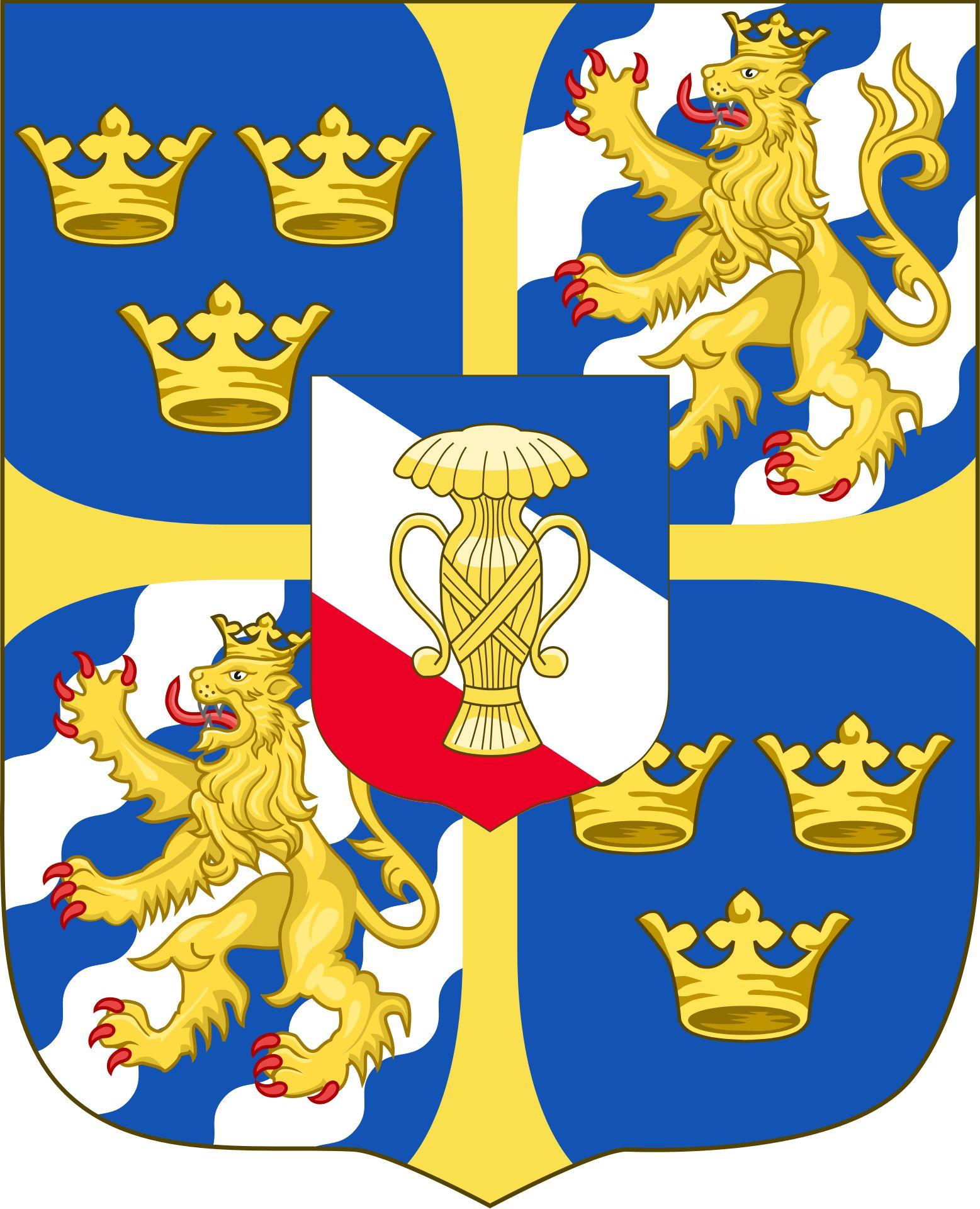 Coat Of Arms Christina Queen Of Sweden