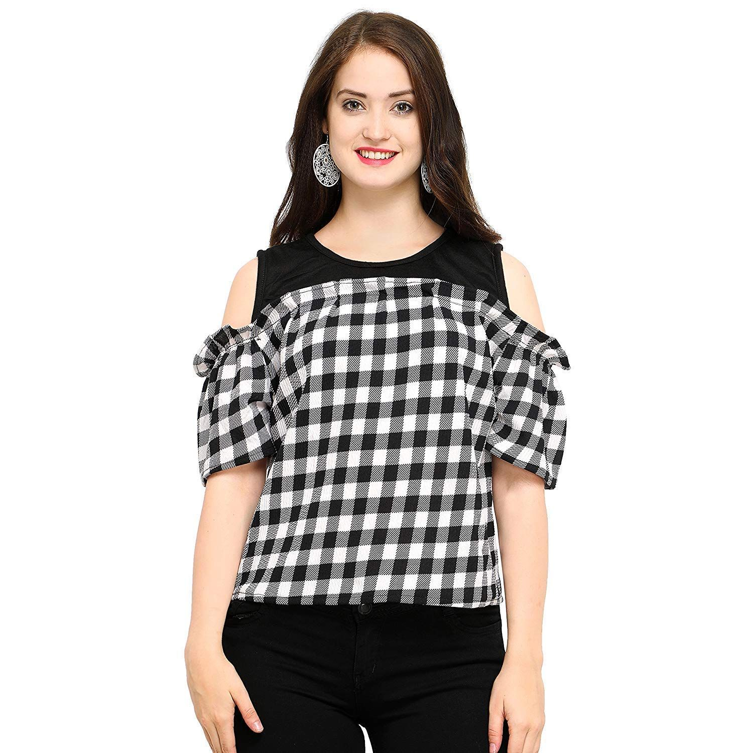 45e2ceecee4d06 #Sale #Rs 199. #Tops #for #Women #Under #Girls #New #Fashion #Western  #Stylish #top #wear #Ladies #Long #Casual #Off #Shoulder #Party #Latest  #Trendy #Girl ...