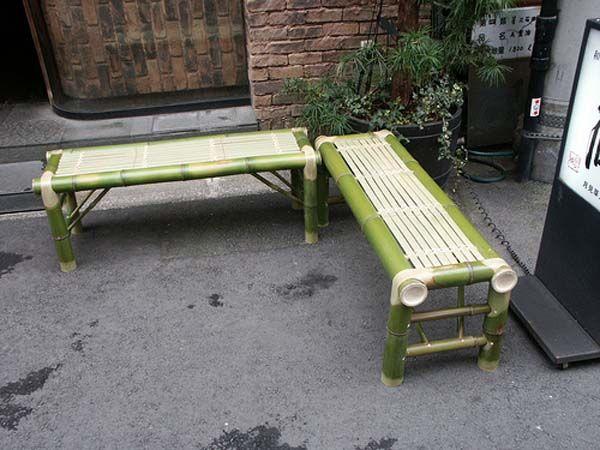 bambou banc design int rieur id es7 bambous pinterest banc design bambou et bancs. Black Bedroom Furniture Sets. Home Design Ideas