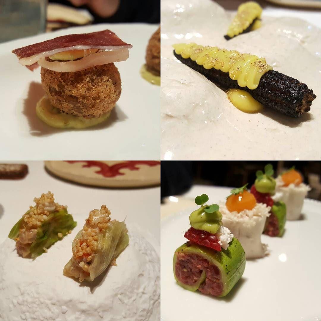 Primera parte del preludio en @ricardcamarena Restaurant