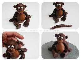 Bildergebnis Fur Affen Torte Affen Zuckerfiguren Geburtstagstorte