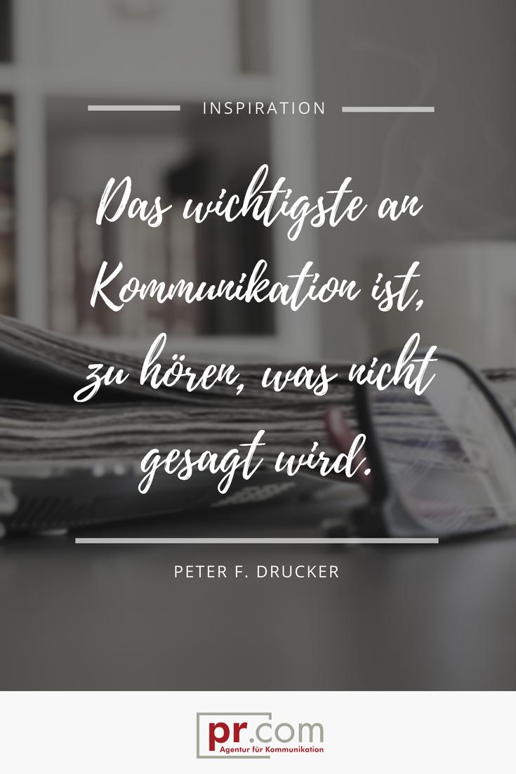 Agentur   Kommunikation zitate, Kommunikation und Gedichte ...
