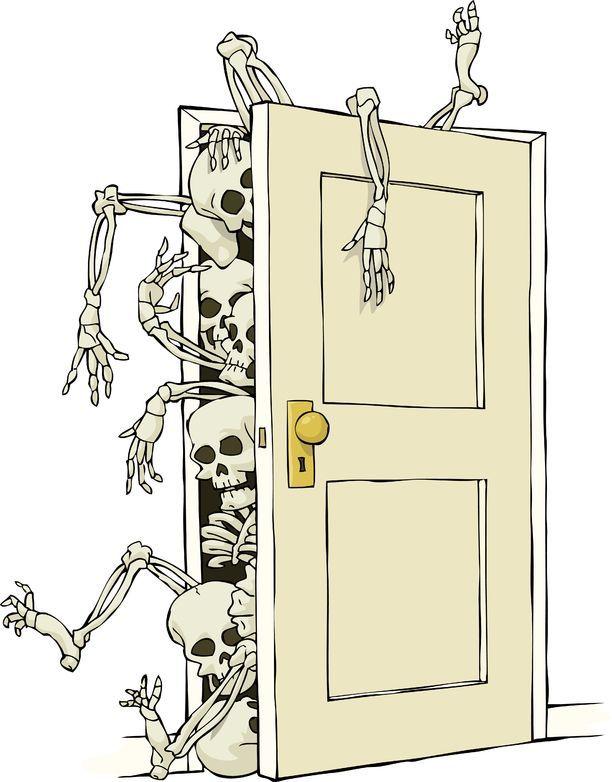 Aparador Significado Cocina ~ Esqueletos en el armario Expresión que viene del inglés