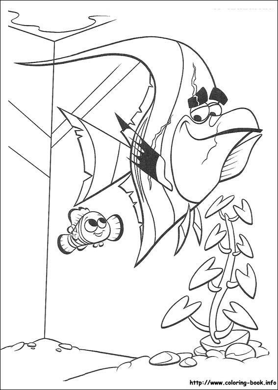 Finding Nemo coloring picture | Disney Coloring Pages | Pinterest