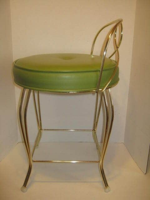Outstanding Mid Century Hollywood Regency George Koch Sons Brass Vanity Bralicious Painted Fabric Chair Ideas Braliciousco