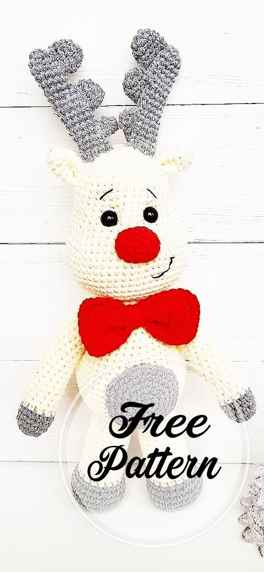Cool and Free Deer Amigurumi Crochet Pattern for Chirstmas, #Amigurumi #chirstmas #Cool #Crochet #Deer #häkeln weihnachten kostenlos deutsch Cool and Free Deer Amigurumi Crochet Pattern for Chirstmas, #Amigurumi #chirstmas #Cool #Cro...