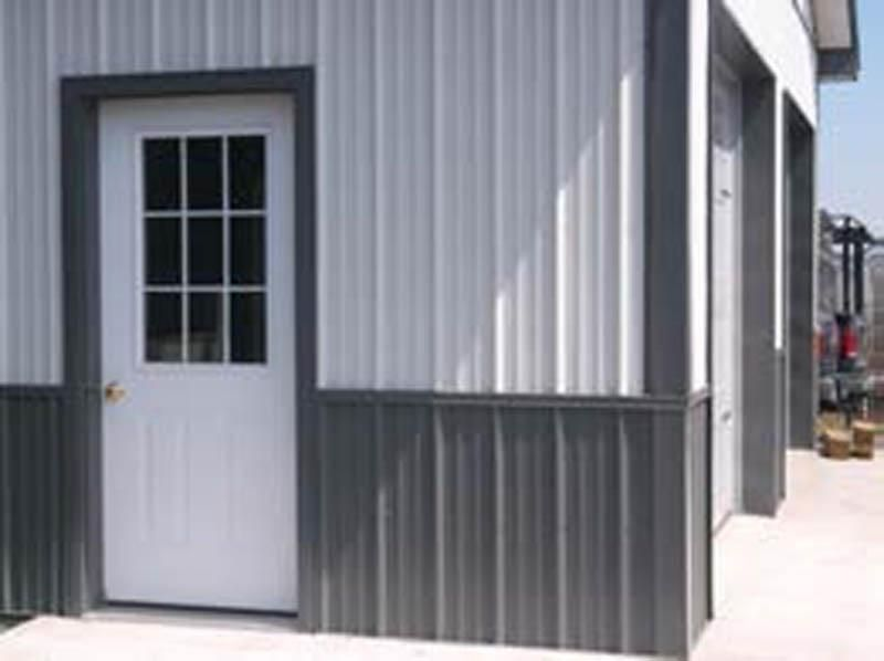 Two Tone Siding Metal Buildings Building House Colors
