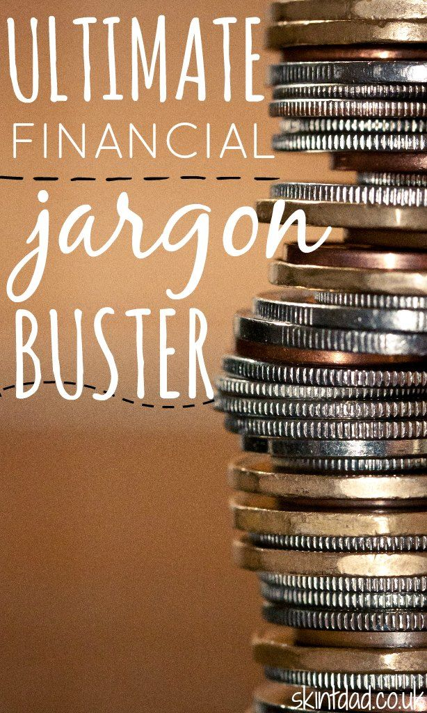 Financial jargon - do you know your APRs from your EARs? To help with the confusion I've come up with the ultimate financial jargon buster to help.
