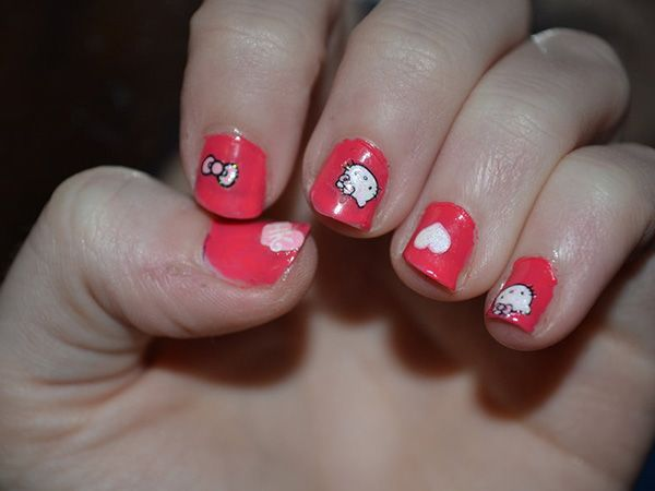 Nice 10 beautiful hello kitty nail designs all new hairstyles nice 10 beautiful hello kitty nail designs prinsesfo Images