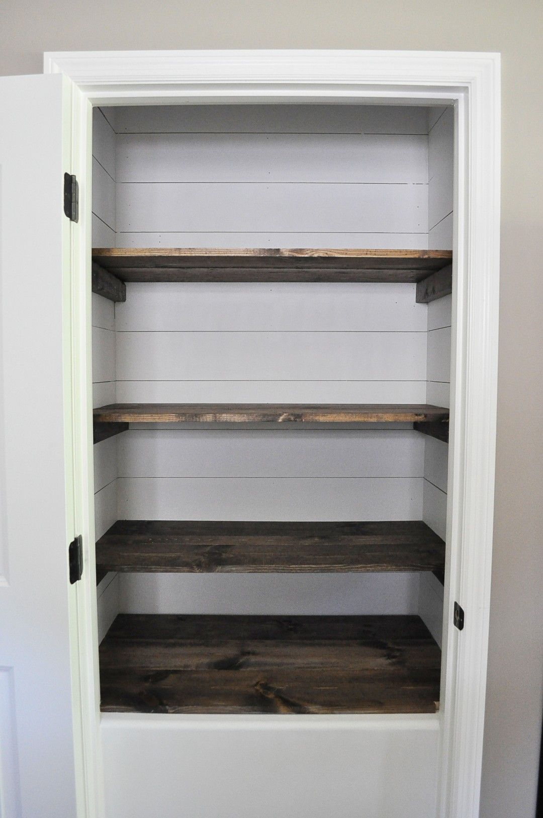 Farmhouse Pantry Makeover Pantry makeover, Pantry