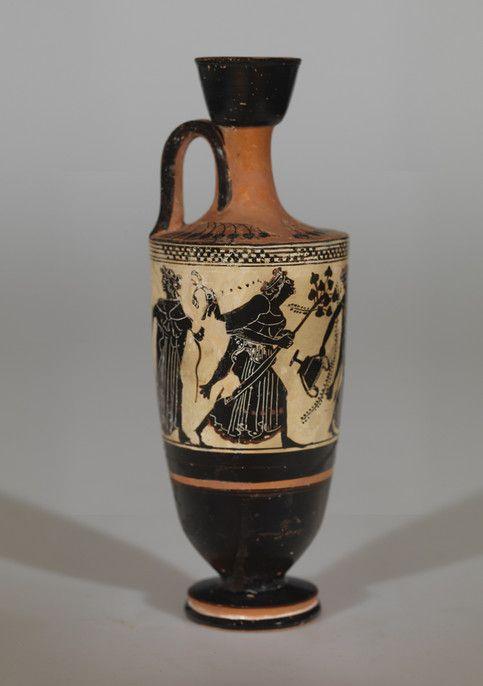 Arqueología Y Fósiles Aphrodite Griego Antiguo Corintio Cerámica Aryballos