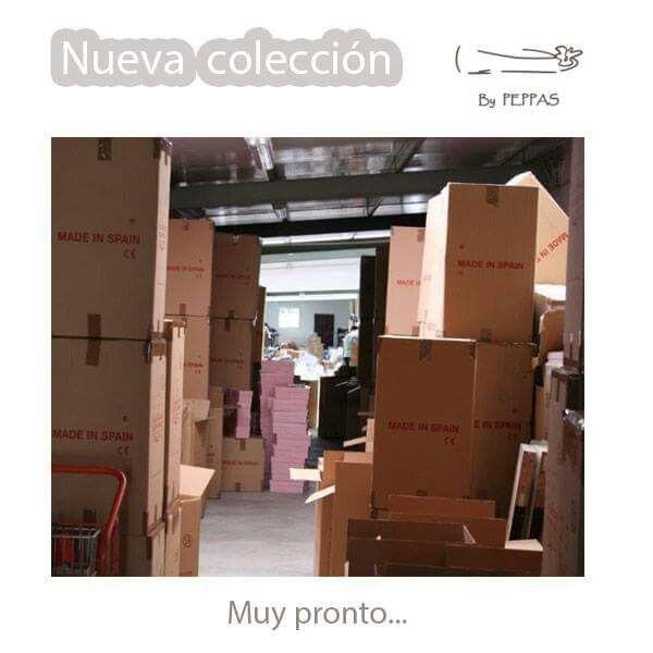 ¡Muy pronto! Colección OTOÑO/INVIERNO. http://bypeppas.es