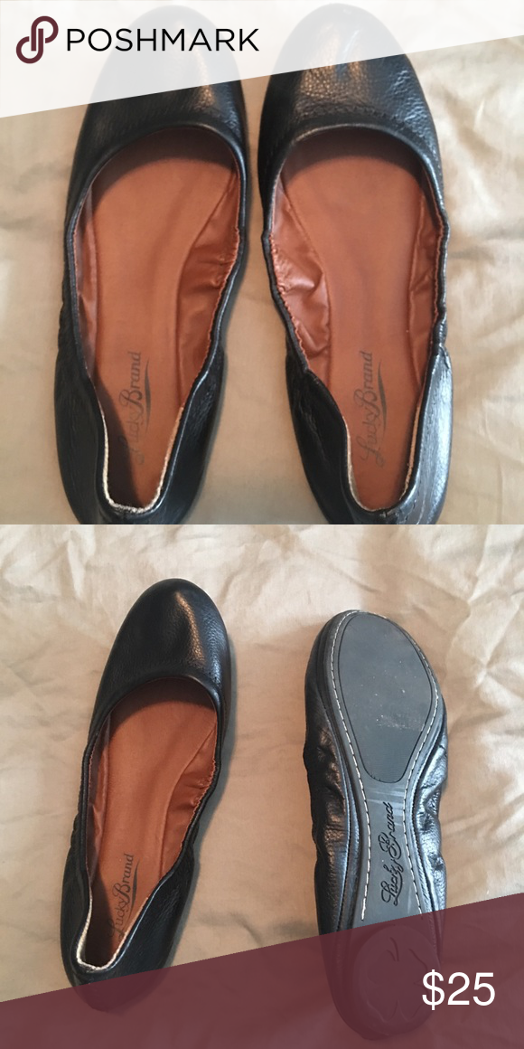 4c619835f Lucky ballet flats Beautiful black ballet flats, hardly ever worn! Lucky  Brand Shoes Flats & Loafers