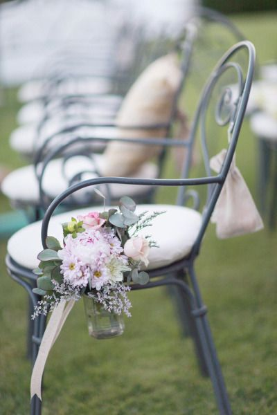 Perfect for a garden ceremony: http://www.stylemepretty.com/2013/05/24/umbria-wedding-from-simply-bloom-photography-llc/ | Photography: Simply Bloom - http://www.simplybloomphotography.com/