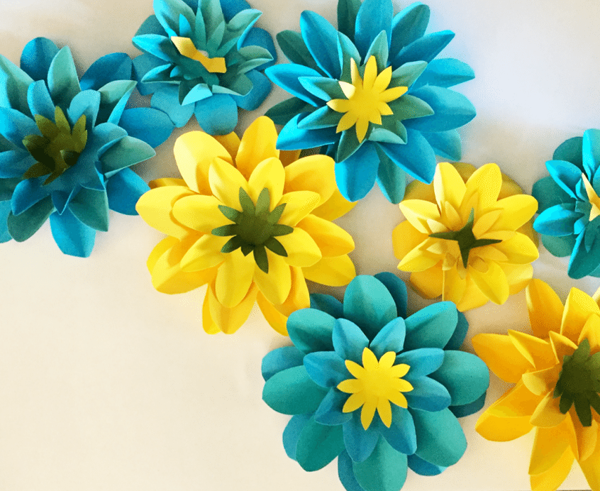 April Showers Bring May\'s Paper Flowers | April showers, Showers and ...