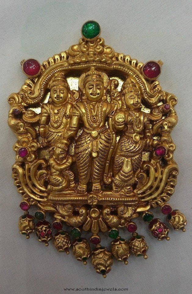 Temple jewellery pendant from vijay jewellers pinterest indian temple jewellery lockets temple jewellery pendants antique jewellery pendants aloadofball Choice Image