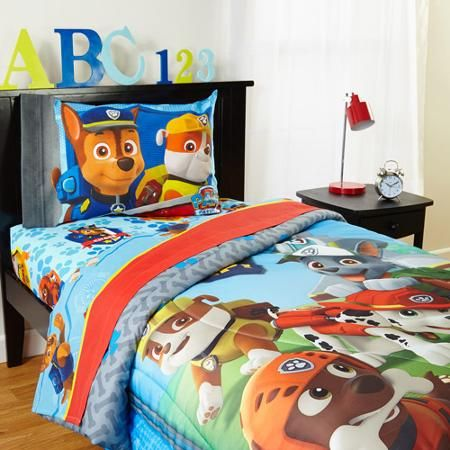 nickelodeon's paw patrol twin sheet set | lennon's room