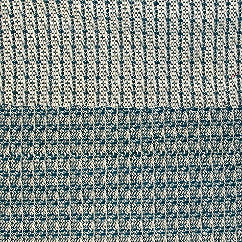 Italian Stripey Reversible Tweed  Deep Teal/Ivory  GorgeousFabrics.com 100 % wool 60 in wide dry clean only   color 19-4914 nice reverse, too ivory? $24 yard
