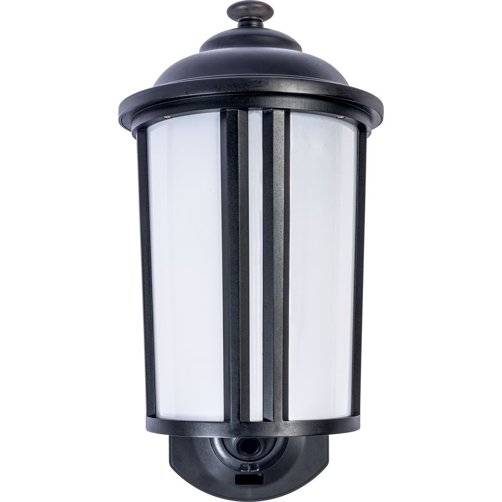 Maximus - Traditional Smart Security Light - Textured black | Light ...