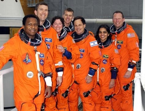 Crew of the space shuttle Columbia (2nd shuttle disaster ...