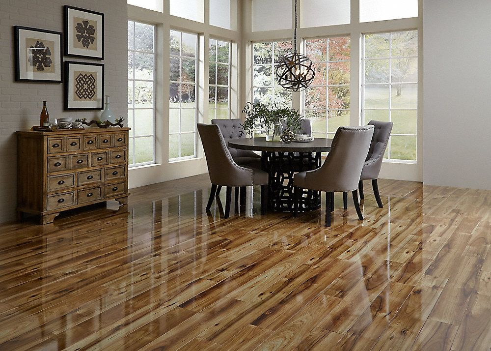 Why You Should Install High Gloss Laminate Flooring In Your New Home Yonohomedesign Com In 2020 Home Dream House Best Flooring