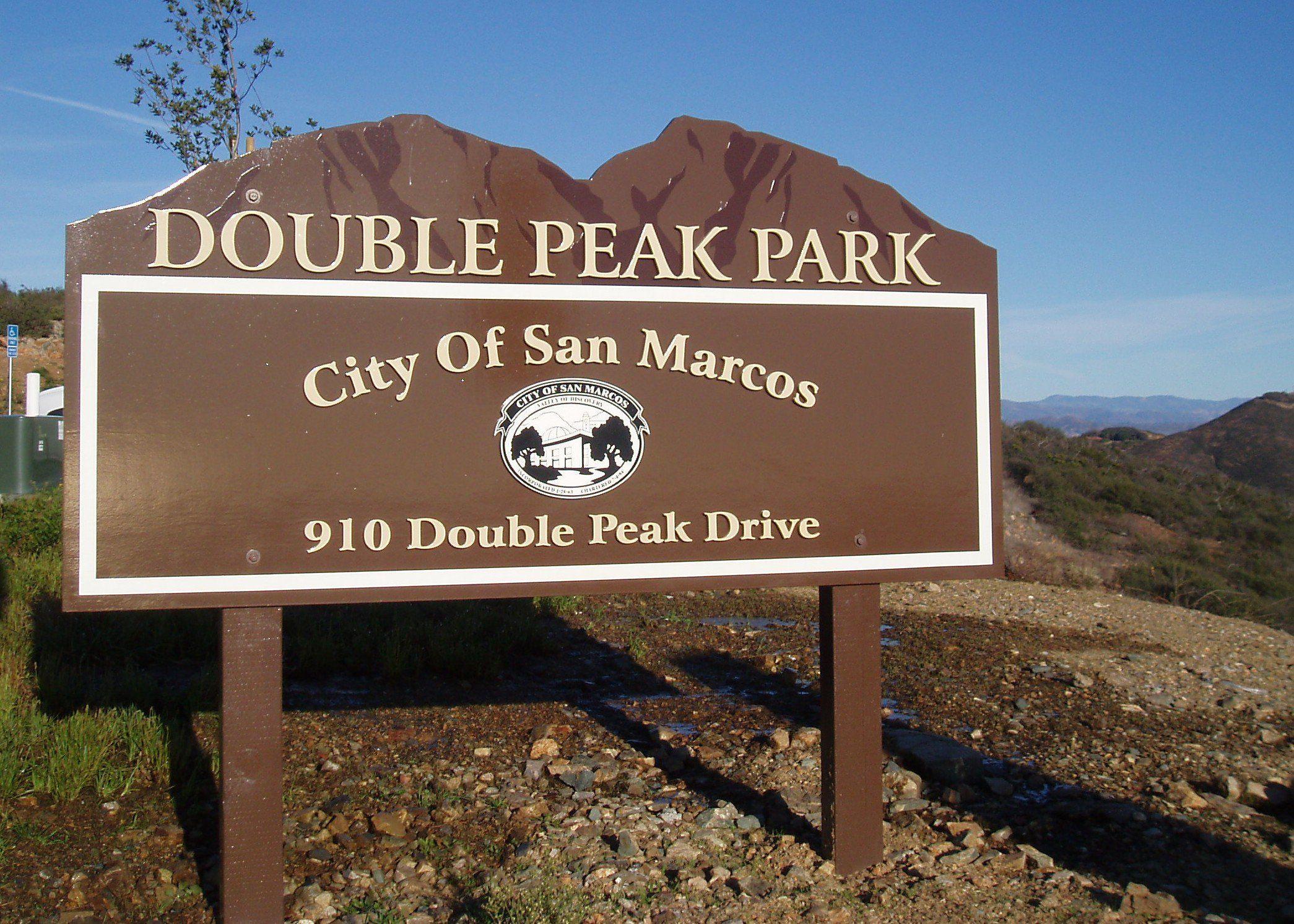 Double Peak Park San Diego Hiking San Diego County San