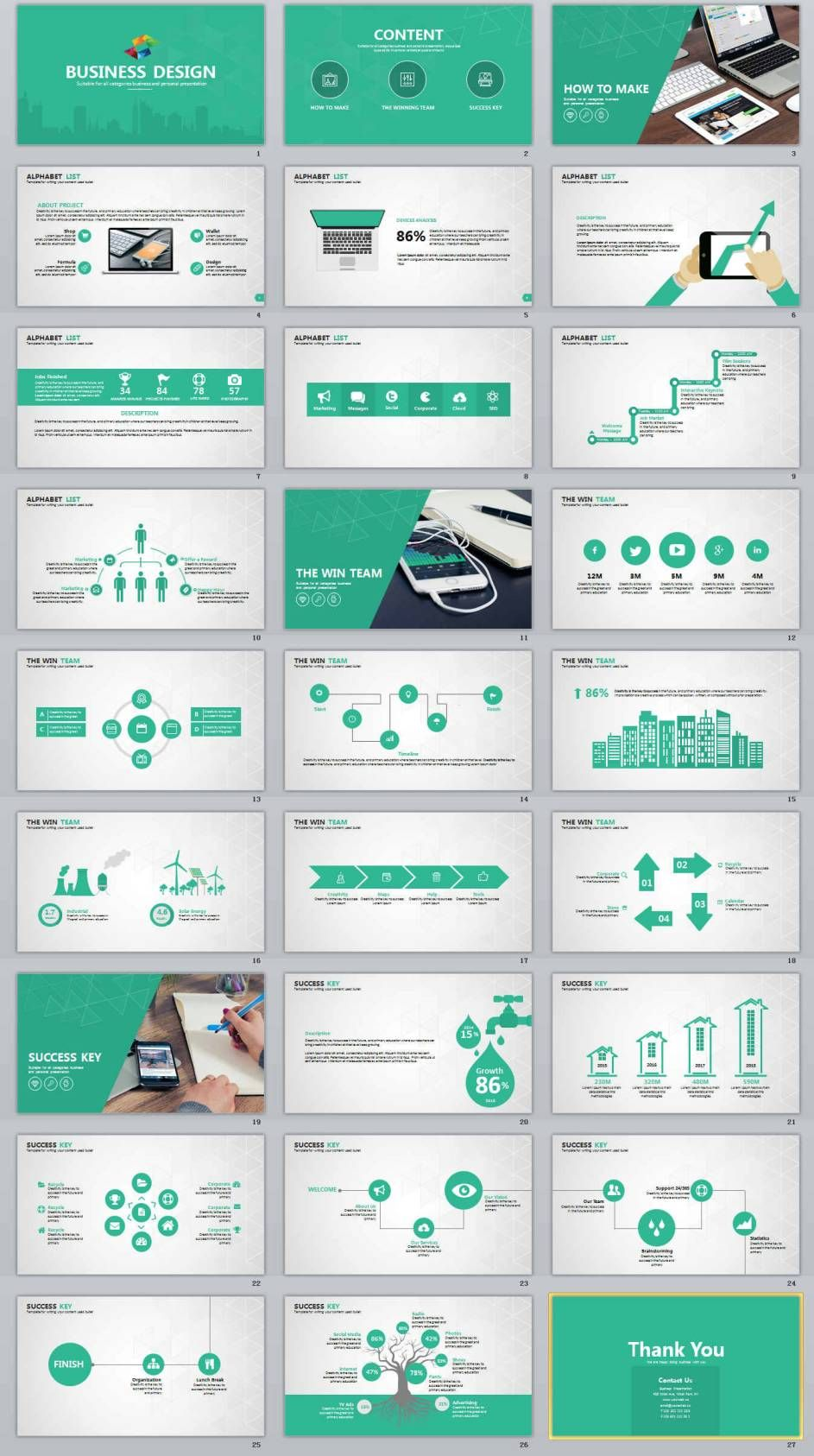 27 design business professional powerpoint templates ppt graphics