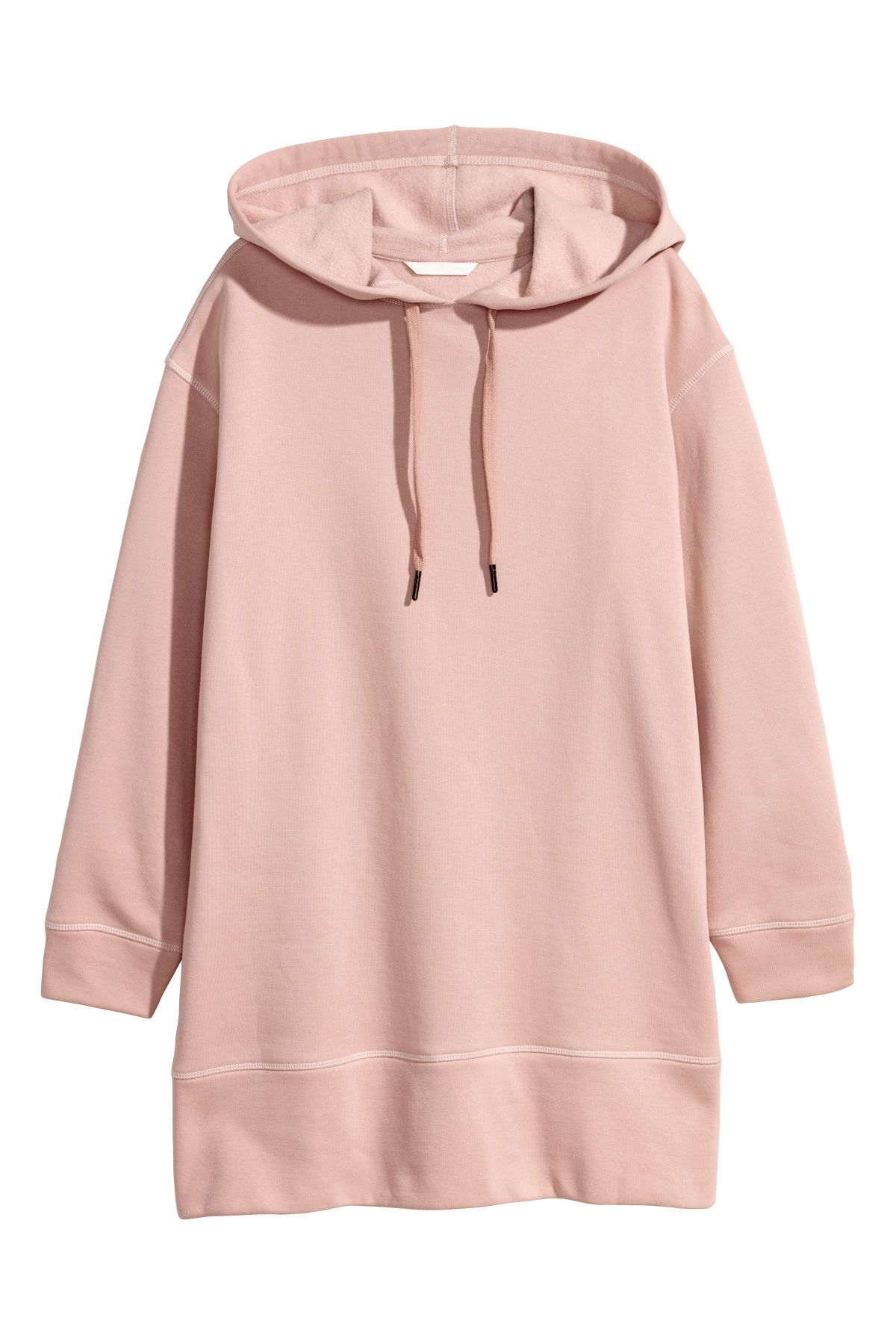 Oversize Hoodie Puderrosa Damen H M De Kapuzenpulli Hoodie Sweatshirts Kapuzenjacke