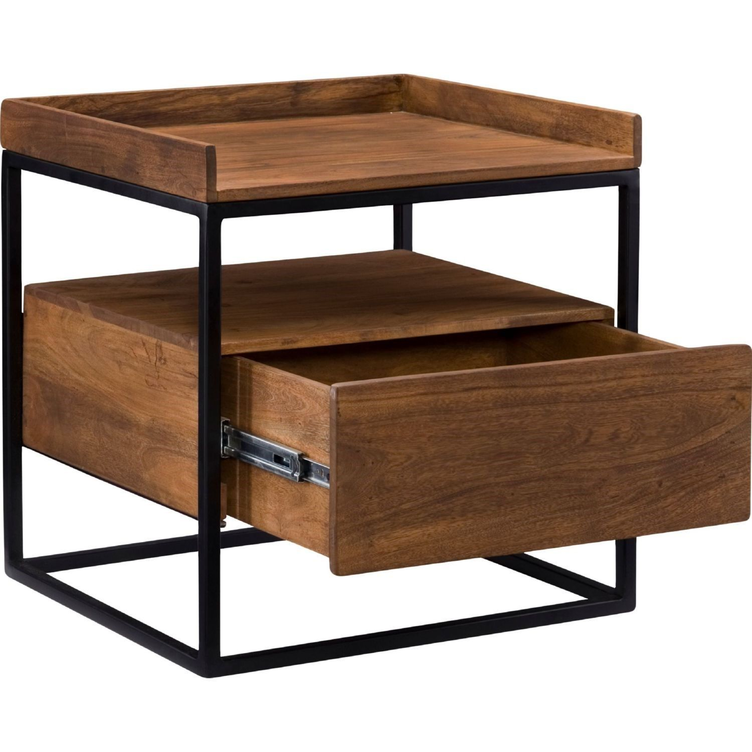 Moe S Home Collection Lx 1025 03 Vancouver Side Table In Light