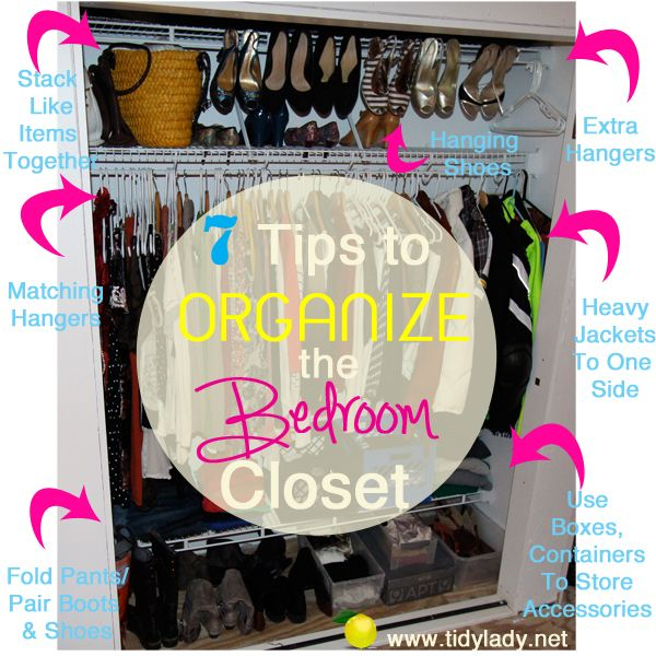 Organizing A Bedroom Closet. Fast, Easy And Solutions To Major Closet  Organizing Problems!