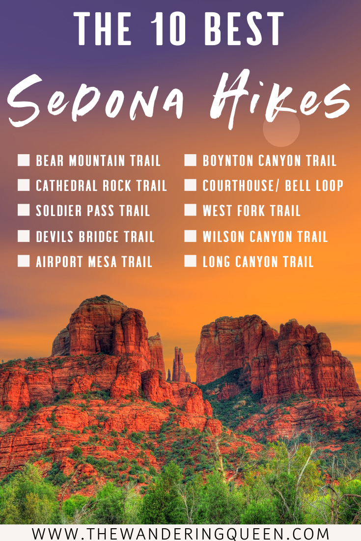 The 10 Absolute Best Sedona Hikes #usatravel