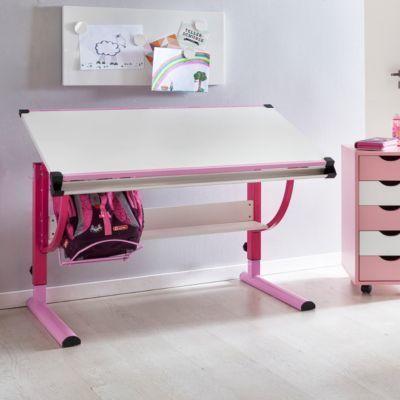 Kinderschreibtisch design höhenverstellbar  Wohnling WOHNLING Design Kinderschreibtisch MORITZ Holz 120 x 60 ...