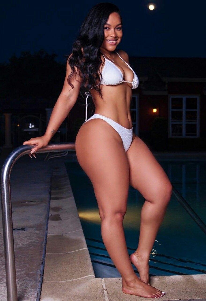 Sexy black thighs