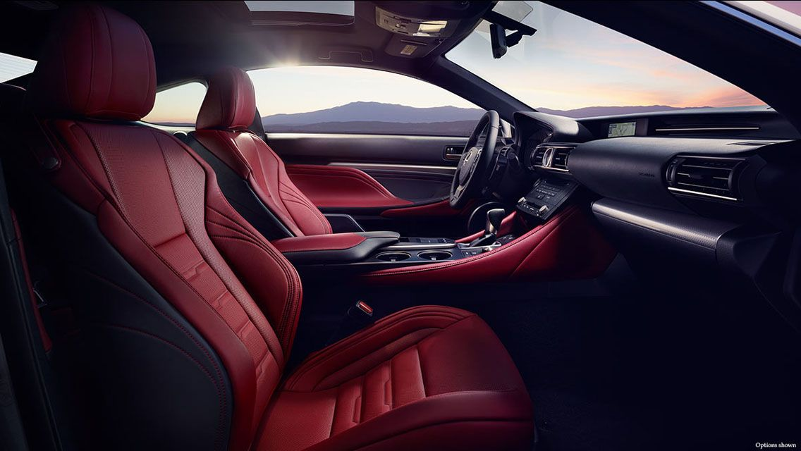 2015 Lexus RC 350 F Sport Front Interior Wallpaper Lexus