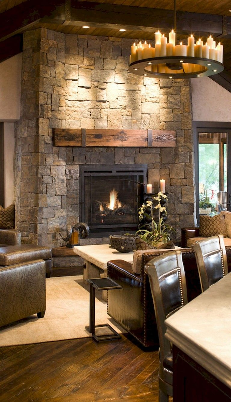 52 Mervelous Fireplace Ideas Makeover Rustic Stone Fireplace Cool House Designs Stone Fireplace