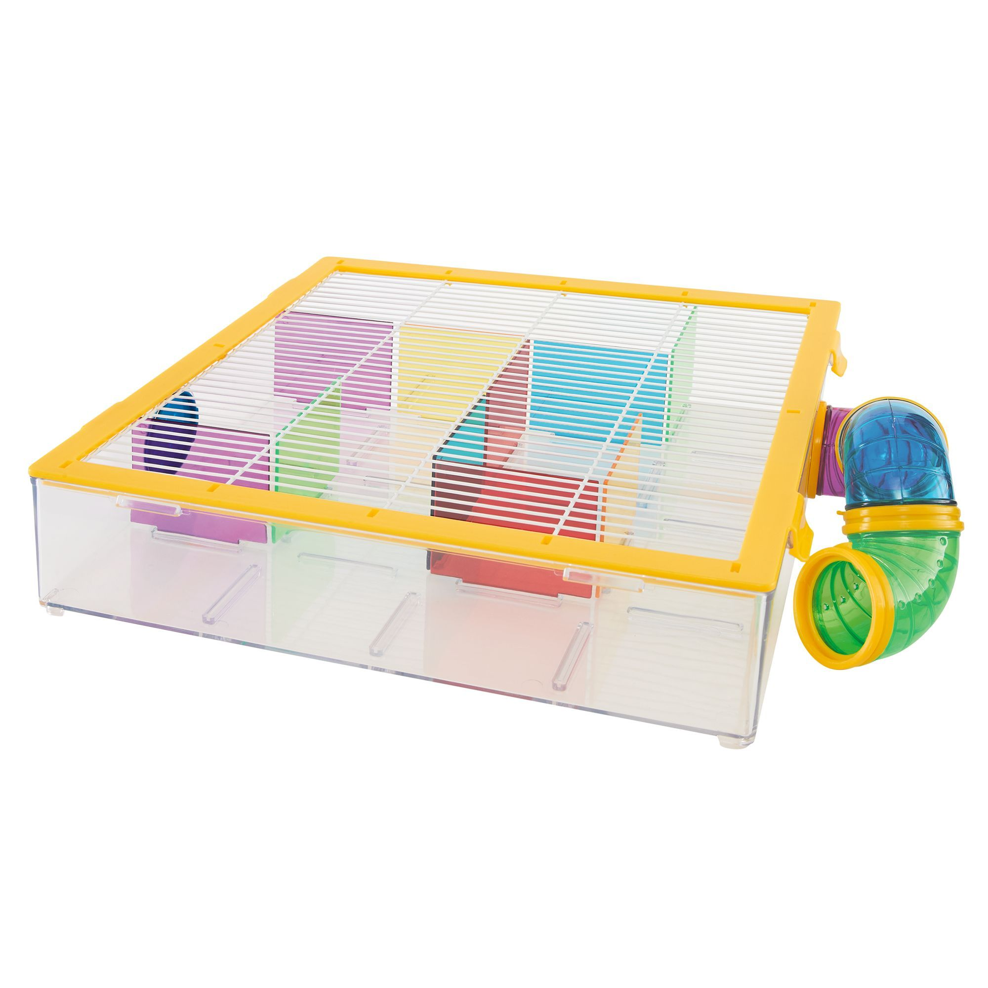 All Living Things Tiny Tales Build Your Own Hamster Maze Kit In 2020 Small Pets Hamster Hamster Toys