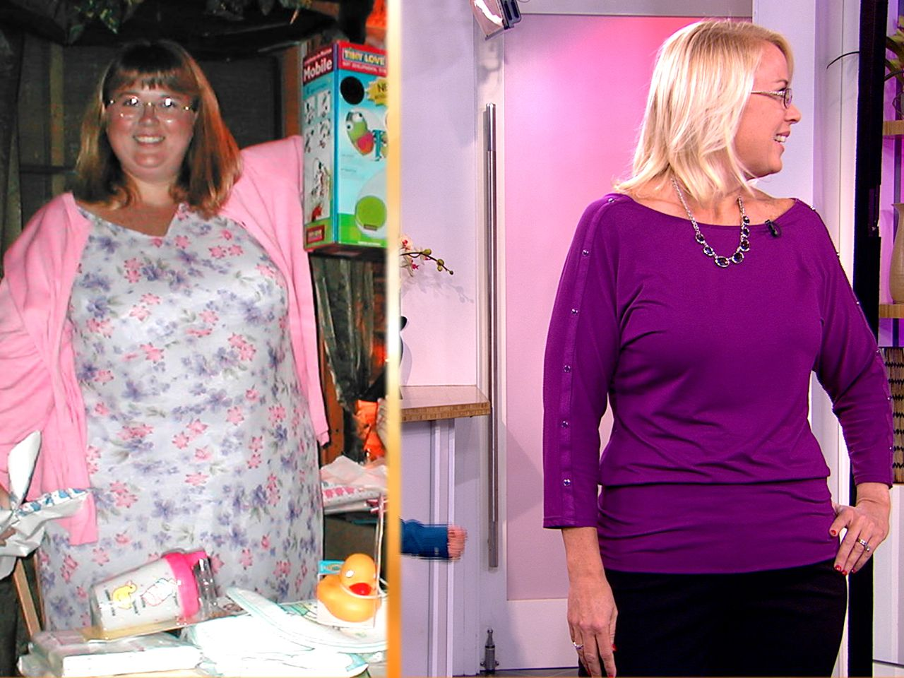 This mom dropped more than half her weight