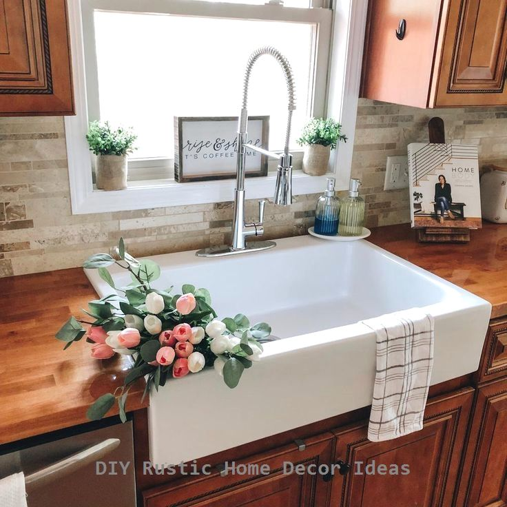 Amazing rustic kitchen island diy ideas in 2020