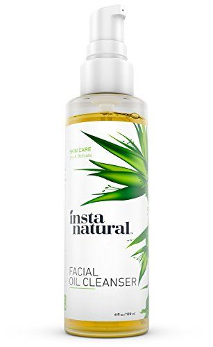 InstaNatural Facial Oil Cleanser, 4 Oz Rooted Beauty Lip Butter, Orange Vanilla, 0.15 Oz
