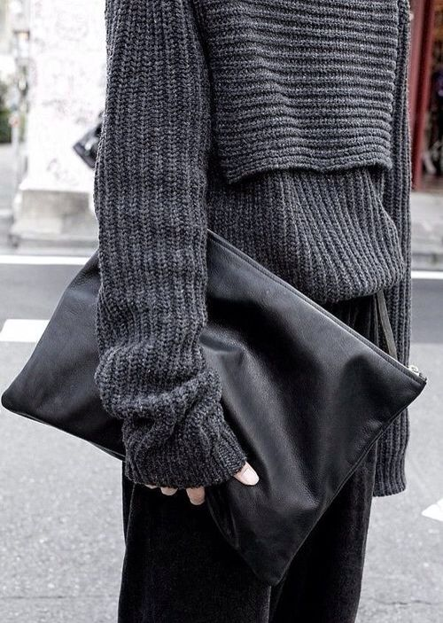 Bulk Grey Sweather with Long Slouch Sleeves.... I love slouch sleeves... looks great.. for fall