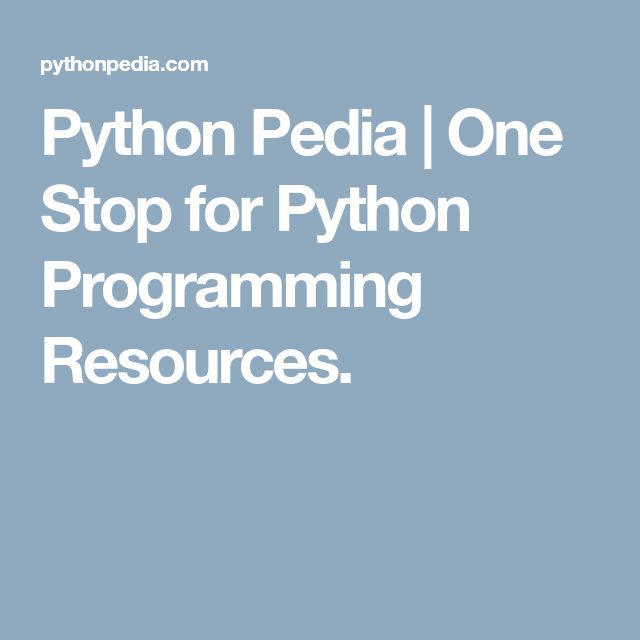 Getting Started With Python Language With Images Python