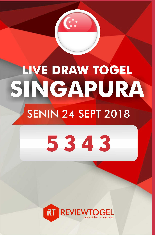 Live result togel sgp senin 24 september 2018 berikut ...
