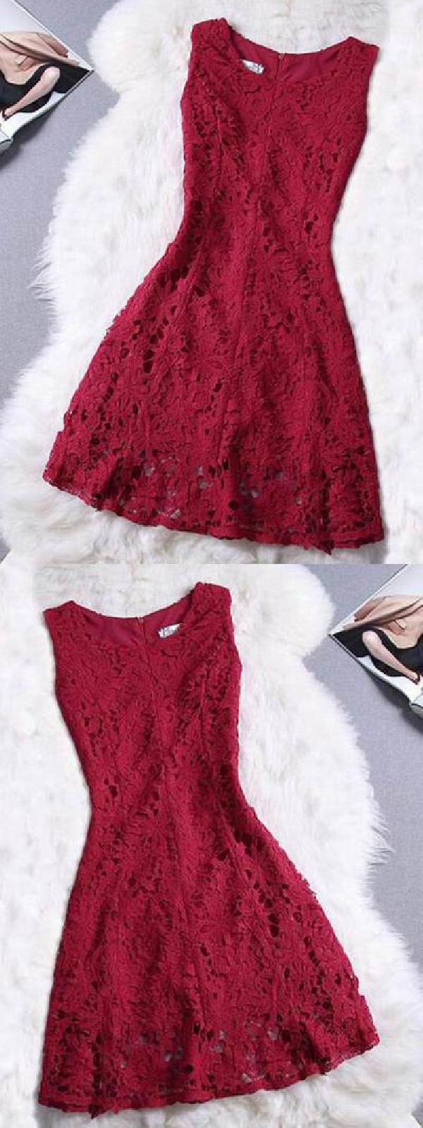 Prom dresses red prom dresses lace red lace homecoming dress