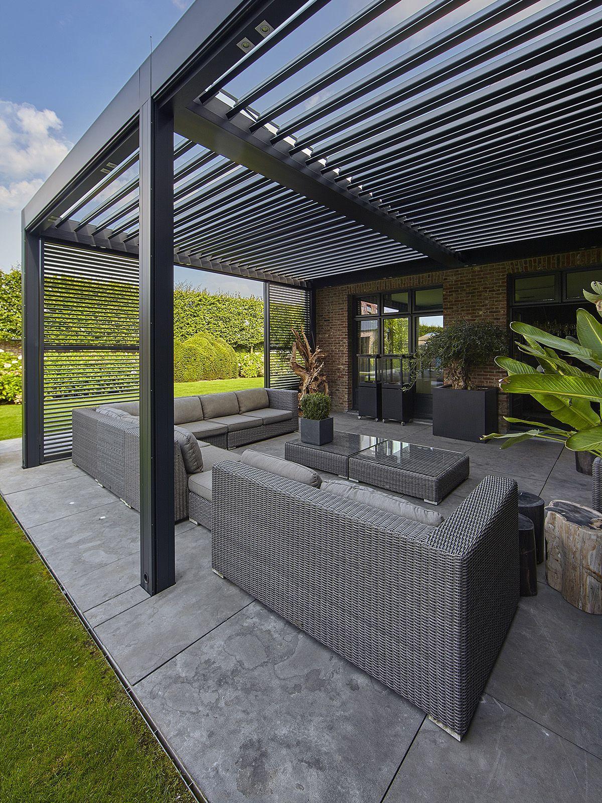 Romantic garden, Ludo Dierckx, Swimming pool, Pool house, Openness …