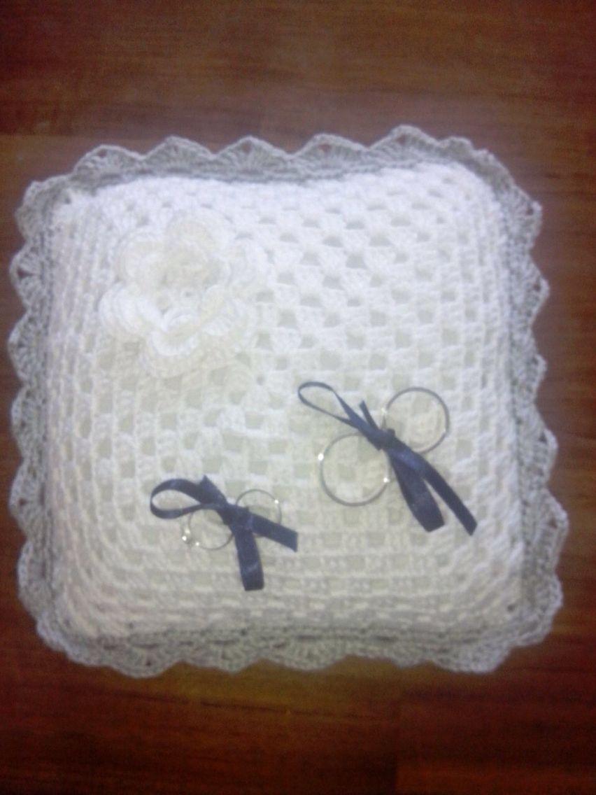 Ringkussen | CIM (Crochet It Myself) | Pinterest | Hochzeiten und Häkeln