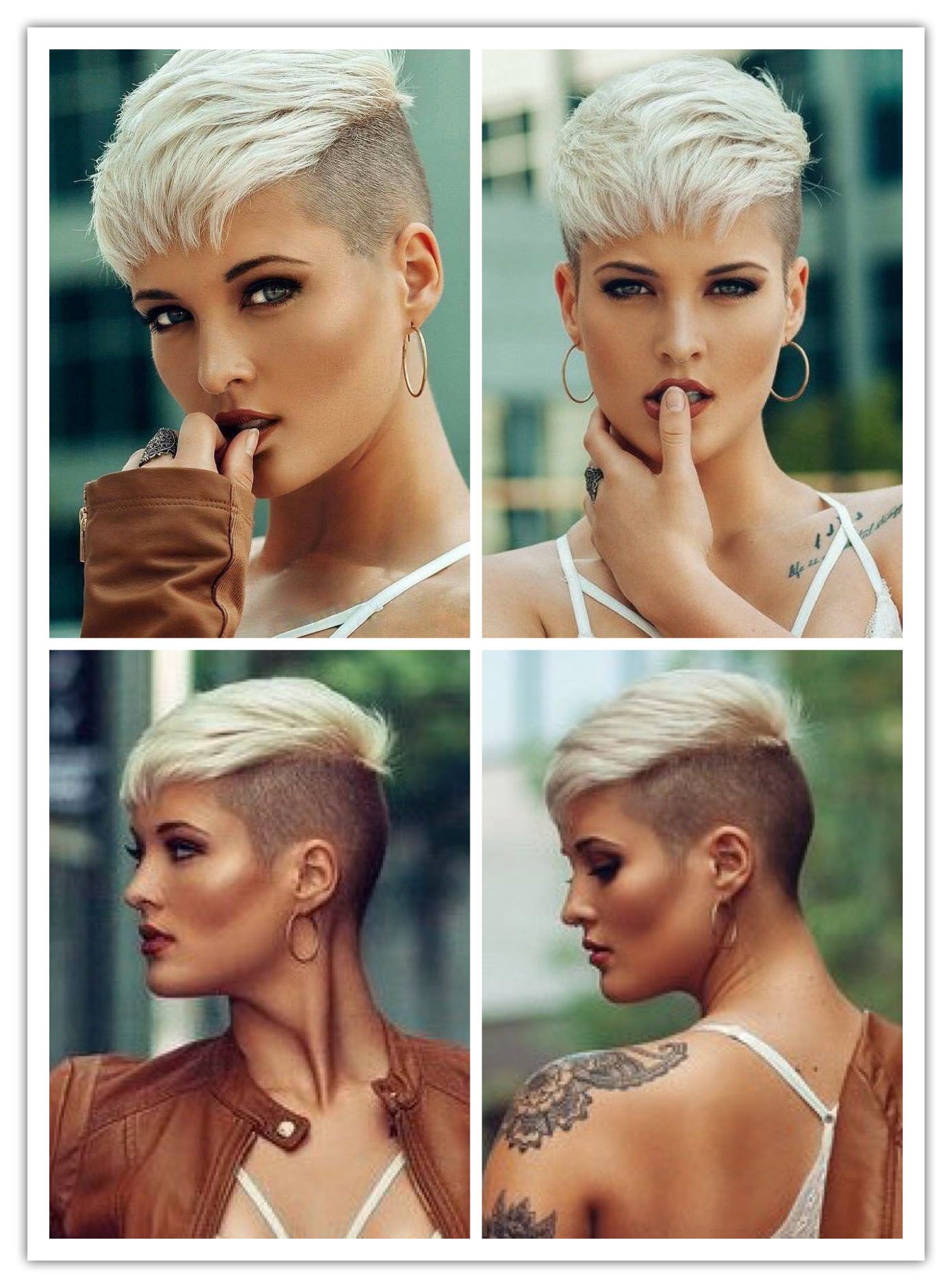 Very Short Shaved Hairstyles