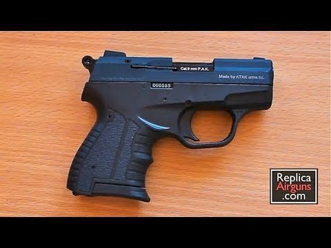 Zoraki M906 9mm P A K  Blank Gun Review | Hand Guns | Guns, Hand