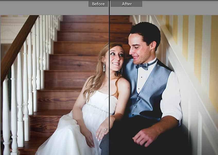 Wedding Smiles Free Lightroom Preset